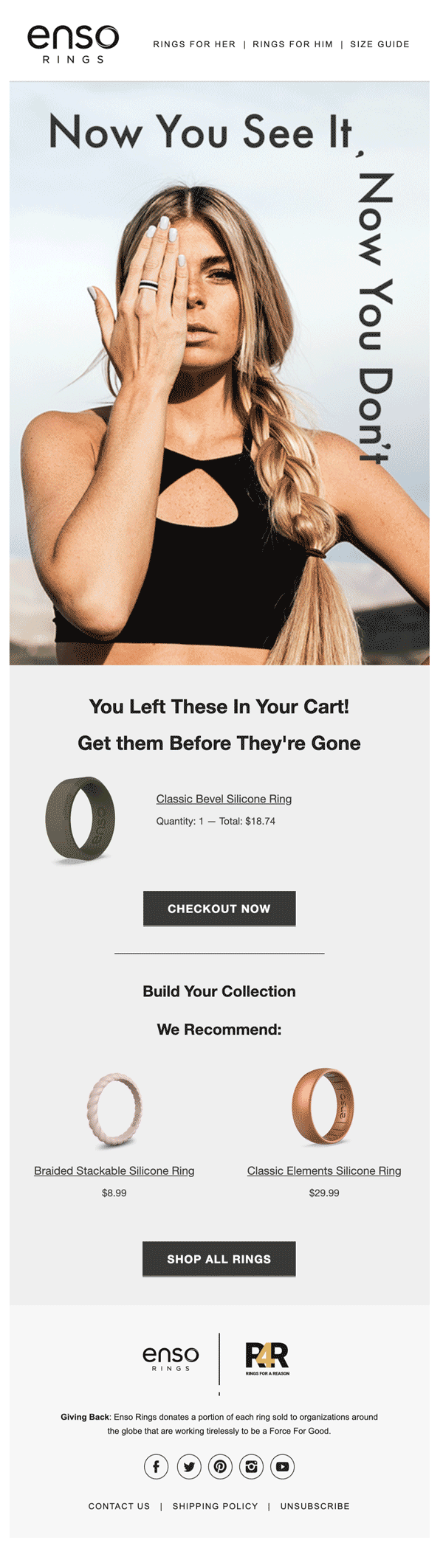 100 Abandoned Cart Email Examples Swipe File